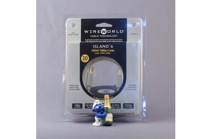 Кабель HDMI - HDMI WireWorld Island 6 HDMI-HDMI 0.3m
