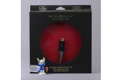 Кабель HDMI - HDMI WireWorld SILVER Starlight 6 HDMI-HDMI 25.0m