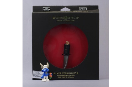 Кабель HDMI - HDMI WireWorld SILVER Starlight 6 HDMI-HDMI 0.5m
