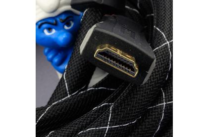 Кабель HDMI - HDMI DH Labs HDMI Silver 1.4 Video Cable 0.5m