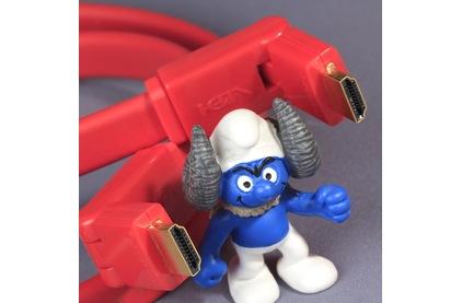 Кабель HDMI - HDMI Van Den Hul HDMI Flat 180 2.0m