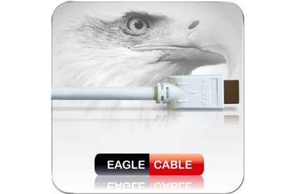 Кабель HDMI - HDMI Eagle Cable HDMI White 1.7m