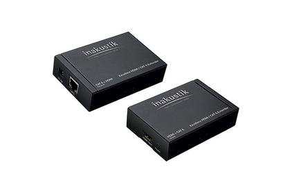 Передача по витой паре HDMI Inakustik 009120011 Exzellenz HDMI/CAT6 Extender
