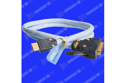 Кабель HDMI-DVI Supra HDMI-DVI MET-S/B 6.0m