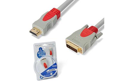 Кабель HDMI-DVI DeLink HDMI-DVI 1.0m