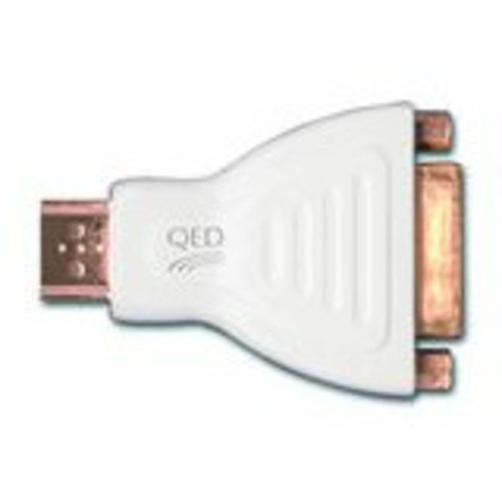 Переходник HDMI - DVI QED Qunex HDMI Male - DVI Female