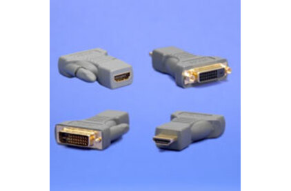 Переходник HDMI - DVI Supra HDMI (Female) - DVI (Male) Adapter