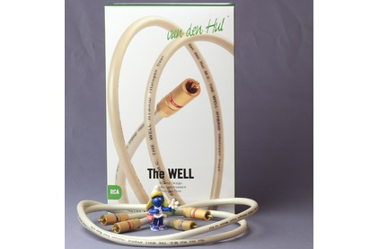 Кабель аудио 2xRCA - 2xRCA Van Den Hul The Well Hybrid 1.0m