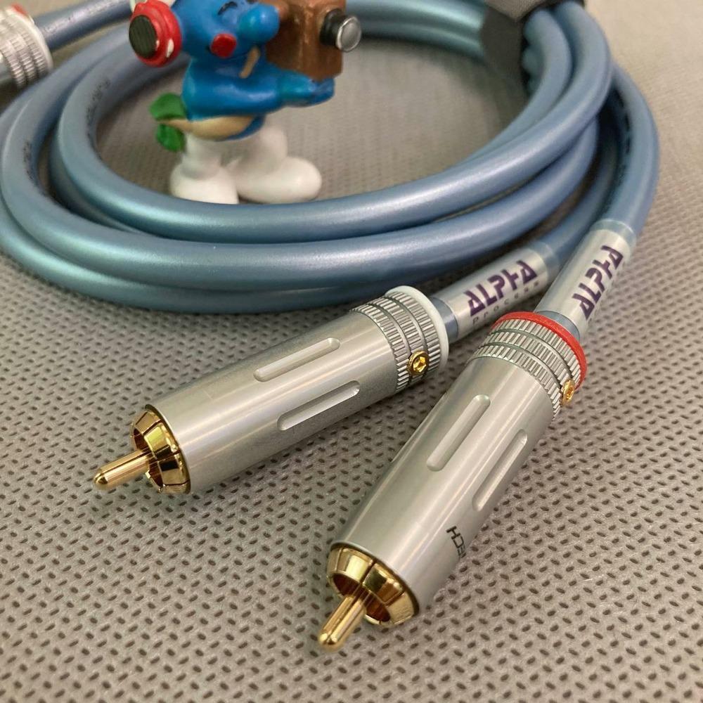 Кабель аудио 2xRCA - 2xRCA Furutech ADL Alpha Line 1 1.0m