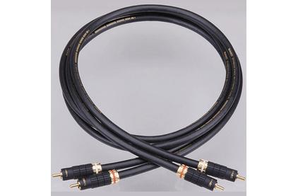 Кабель аудио 2xRCA - 2xRCA SAEC SL-2000 RCA 0.7m