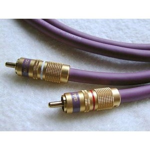 Кабель аудио 2xRCA - 2xRCA SAEC SL-1801 RCA 1.2m