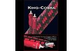 Кабель аудио 2xRCA - 2xRCA Audioquest King Cobra 0.75m