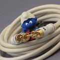 Кабель аудио 2xRCA - 2xRCA DH Labs White Lightning Interconnect RCA 1.0m