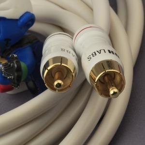 Кабель аудио 2xRCA - 2xRCA DH Labs White Lightning Interconnect RCA 0.5m