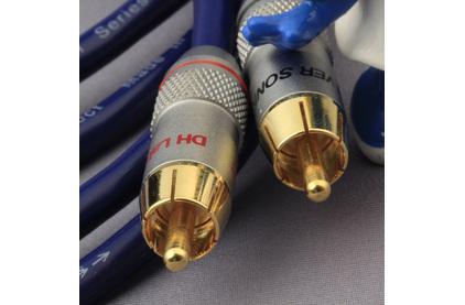Кабель аудио 2xRCA - 2xRCA DH Labs BL-1 Interconnect RCA 1.0m