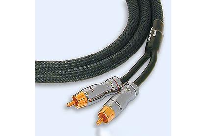 Кабель аудио 2xRCA - 2xRCA DAXX R88-07 0.75m