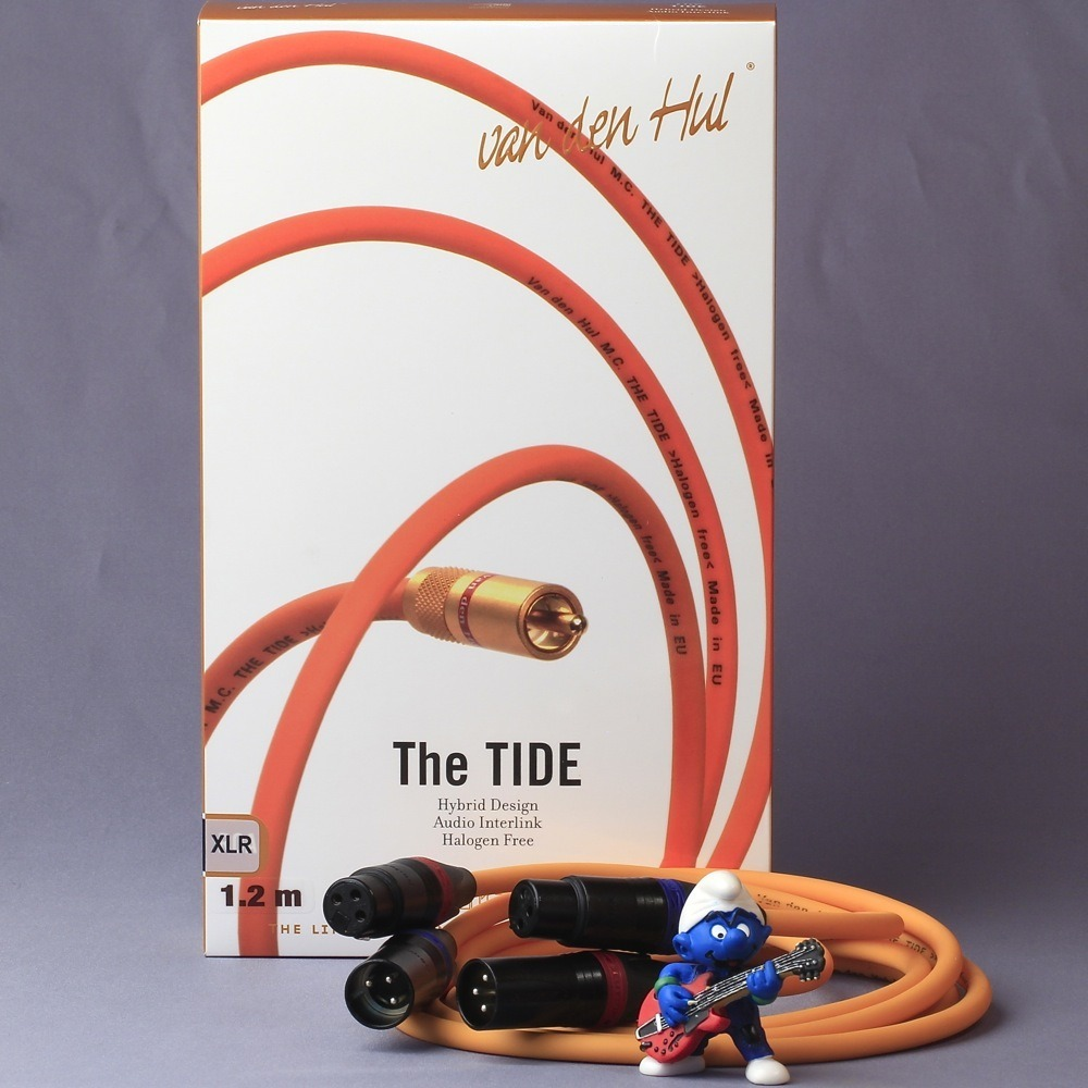 Кабель аудио 2xXLR - 2xXLR Van Den Hul The Tide Hybrid XLR 1.0m