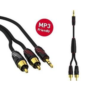 Кабель аудио 1xMini Jack - 2xRCA QED (QE5091) Profile J2P 3.0m