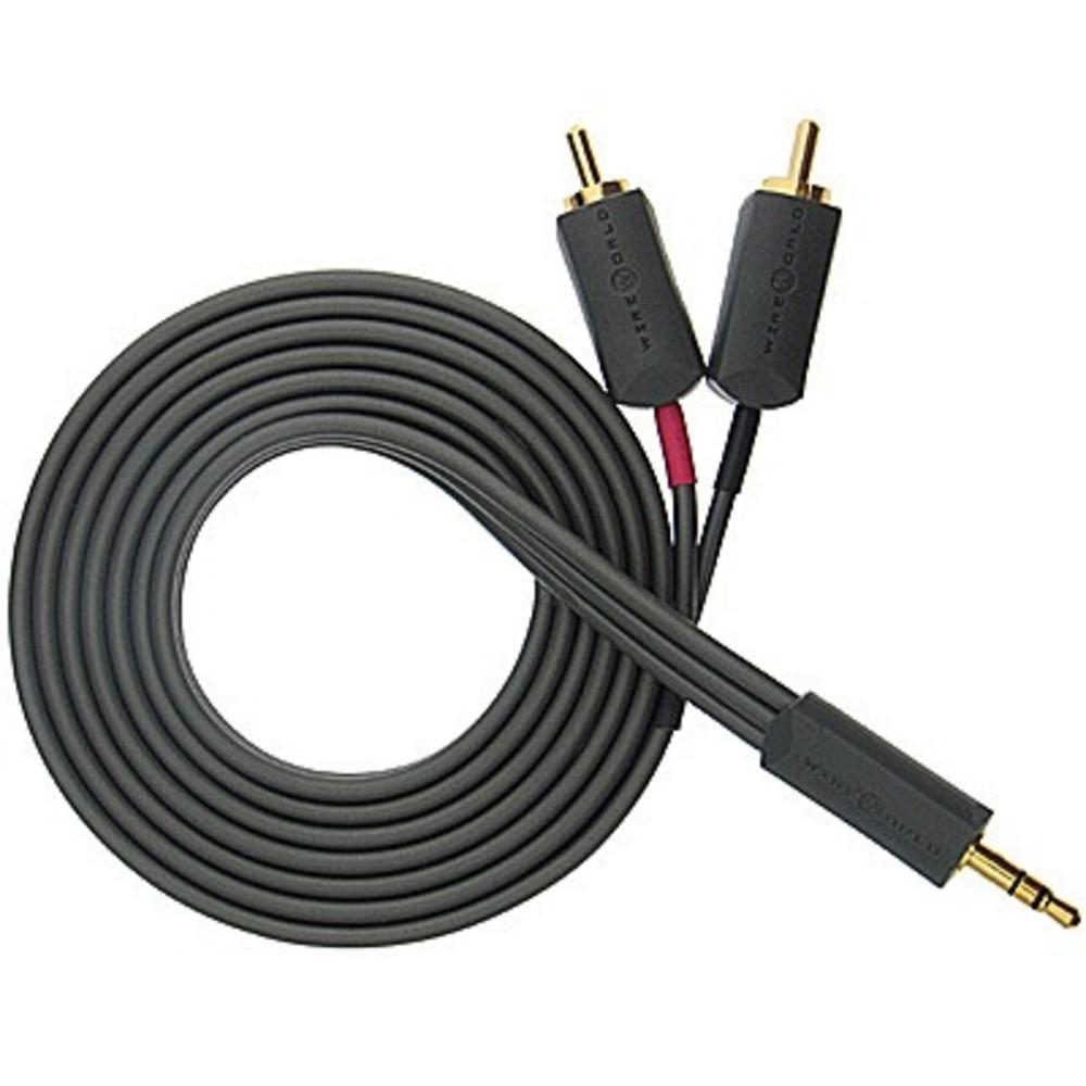 Кабель аудио 1xMini Jack - 2xRCA WireWorld i-World 1.5m
