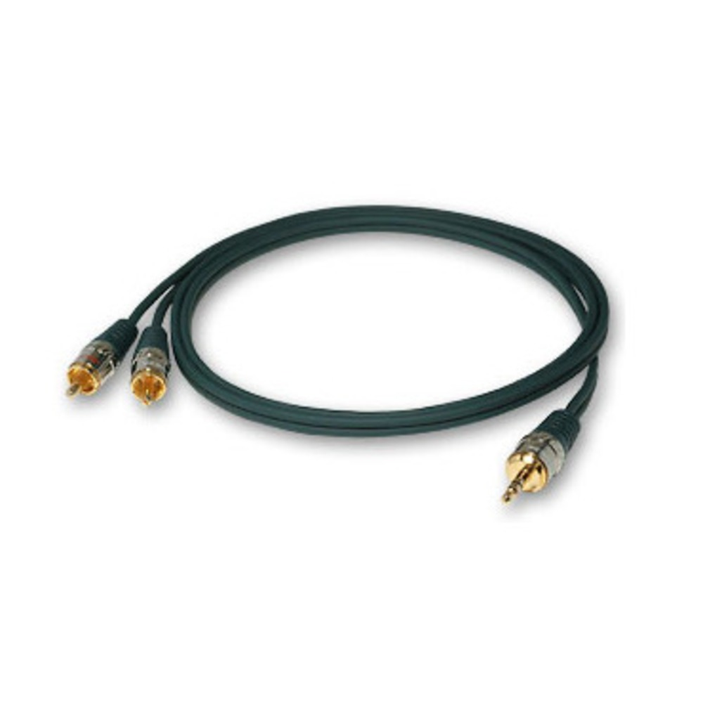 Кабель аудио 1xMini Jack - 2xRCA DAXX J45-11 1.1m