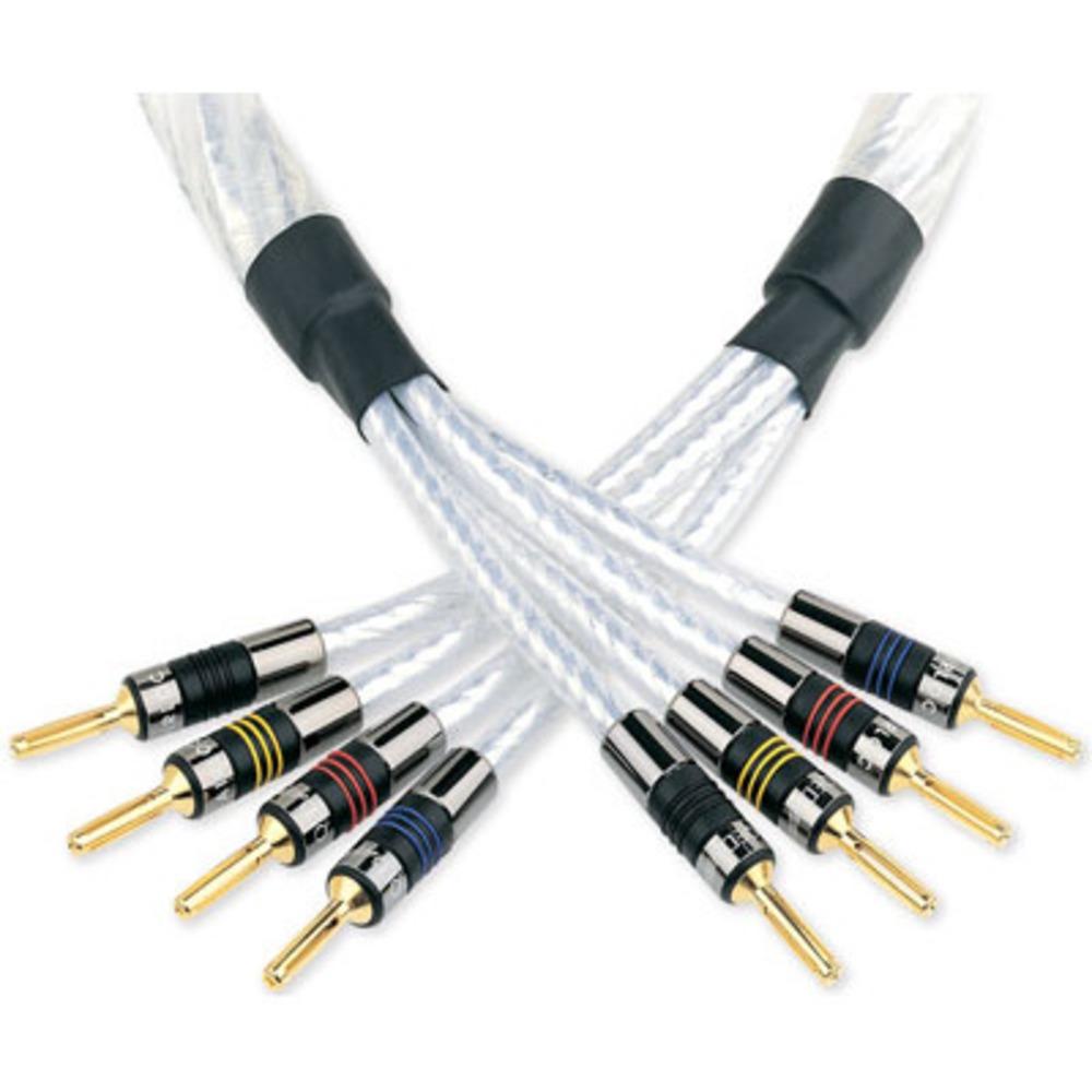 Кабель акустический Bi-Wire QED (C-GNSSBW/30) Genesis Silver Spiral Bi-Wire