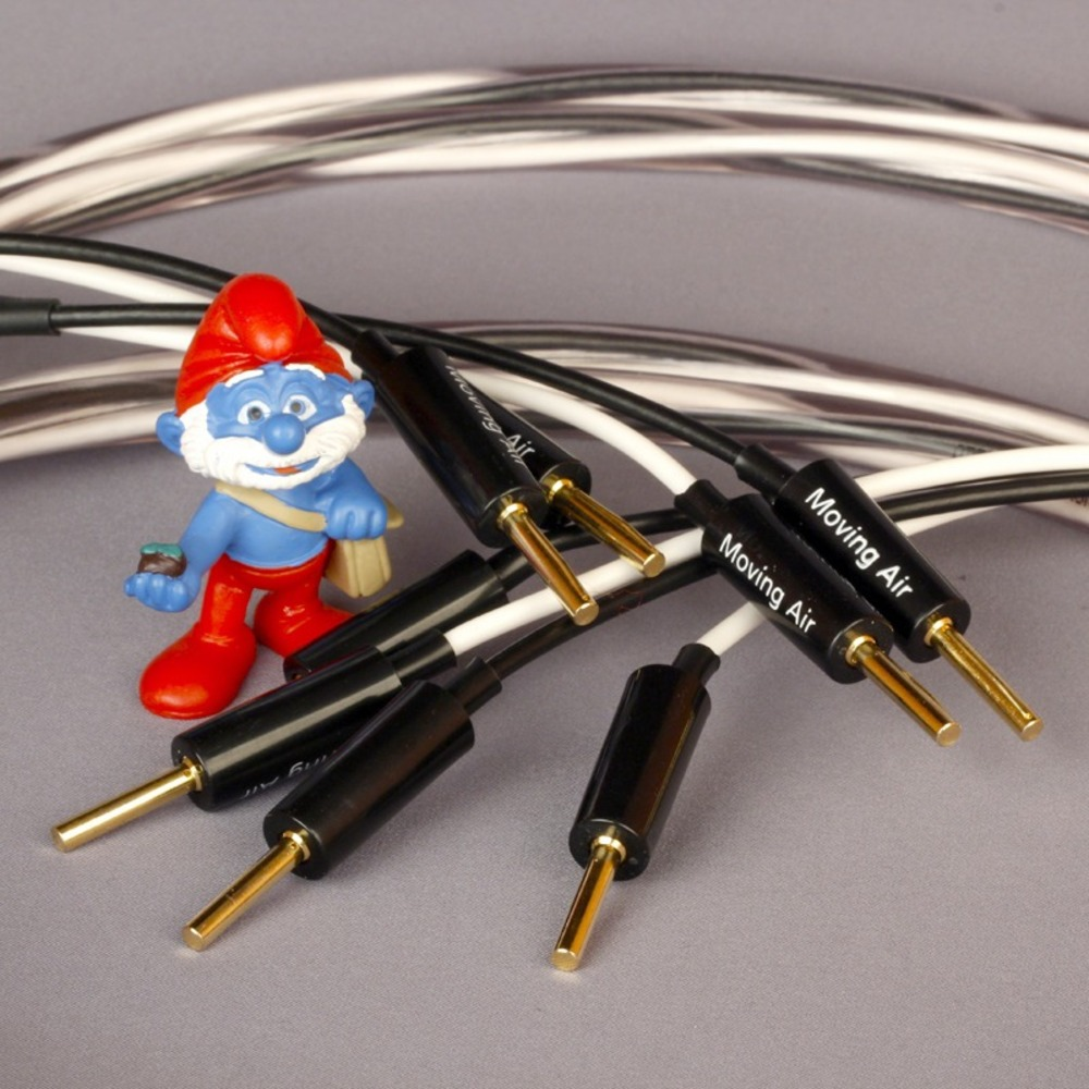 Акустический кабель Single-Wire Banana - Banana Abbey Road Cable Monitor Speaker Cable Banana 2.5m