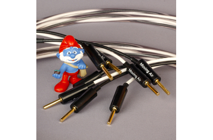 Акустический кабель Single-Wire Banana - Banana Abbey Road Cable Monitor Speaker Cable Banana Bi-Wire 2.5m