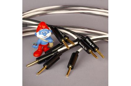 Акустический кабель Single-Wire Banana - Banana Abbey Road Cable Monitor Speaker Cable Banana Bi-Wire 2.0m