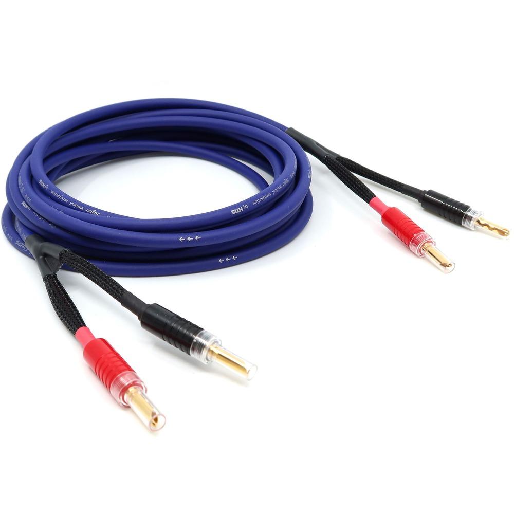 Акустический кабель Single-Wire Banana - Banana HMS Elektronik Al Cinema BFA 2.5m