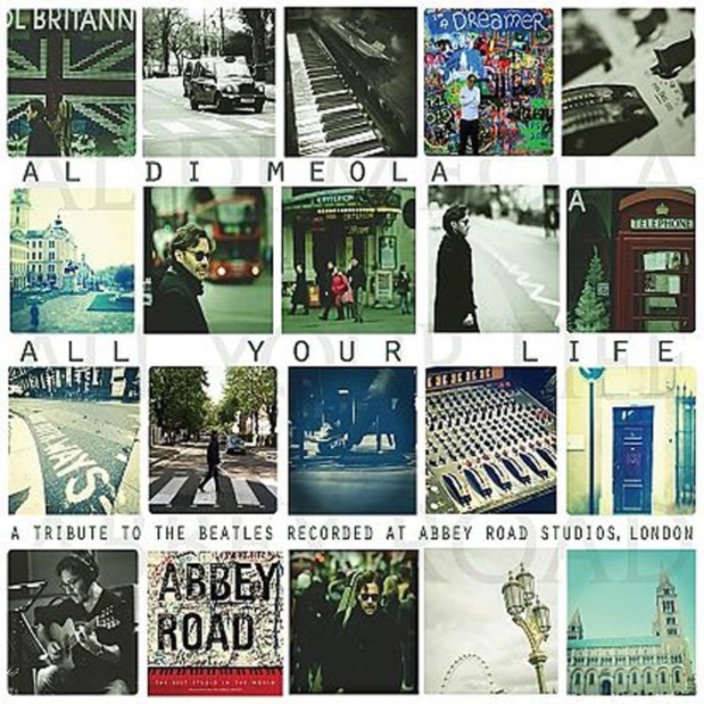 Компакт-диск Inakustik 0169128 Meola, Al Di - All Your Life - A Tribute To The Beatles