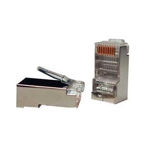 Разъем RJ45 Hyperline PLUG-8P8C-U-C5-SH-100 (100 шт)
