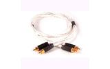 Кабель аудио 2xRCA - 2xRCA Black Rhodium Twist RCA 0.5m