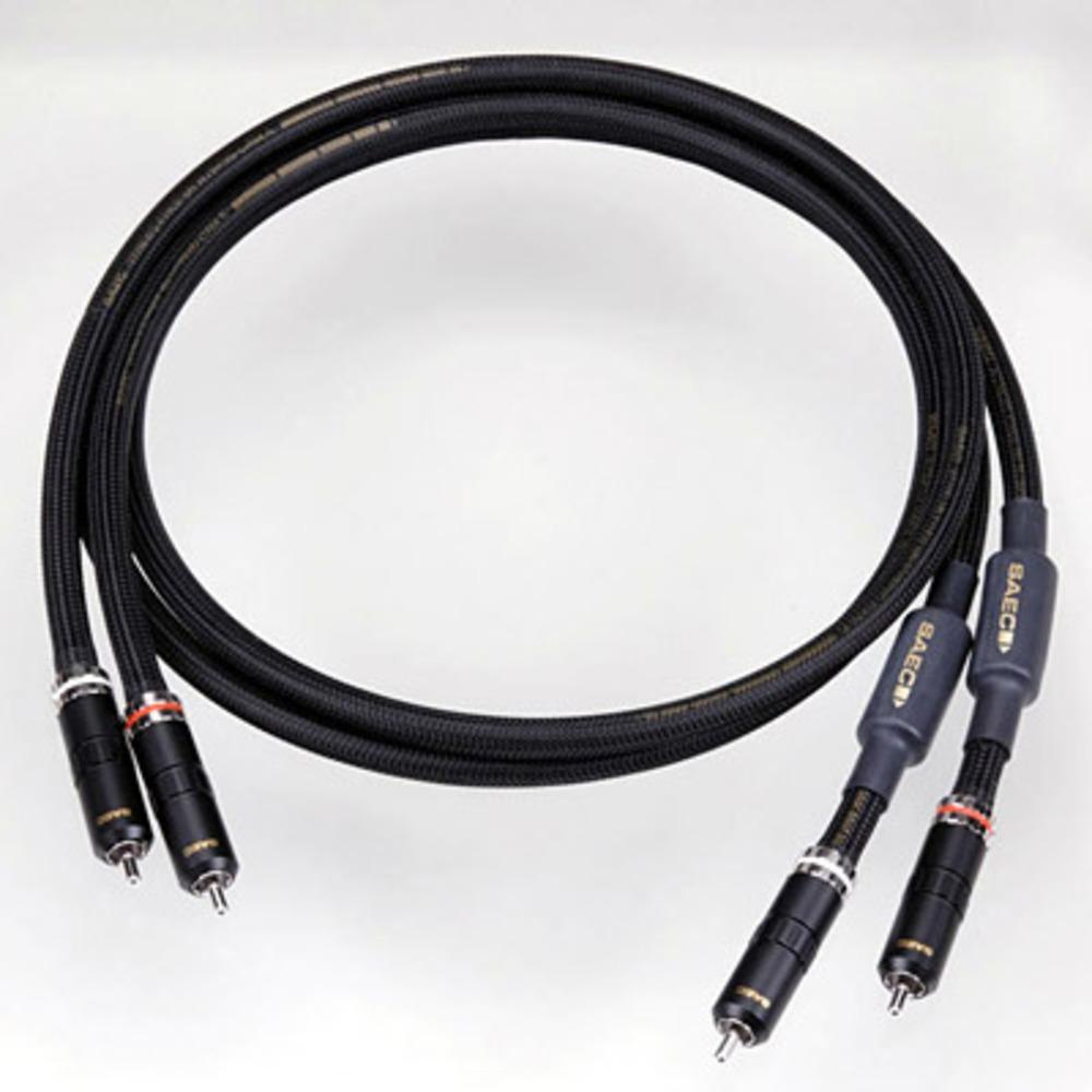 Кабель аудио 2xRCA - 2xRCA SAEC SL-4000 RCA 1.5m