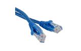 Кабель витая пара патч-корд Hyperline PC-LPM-UTP-RJ45-RJ45-C5e-5M-BL 5.0m