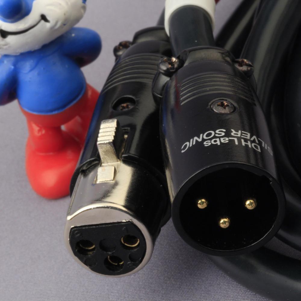 Кабель аудио 2xXLR - 2xXLR DH Labs Air Matrix Innerconnect XLR 0.625m