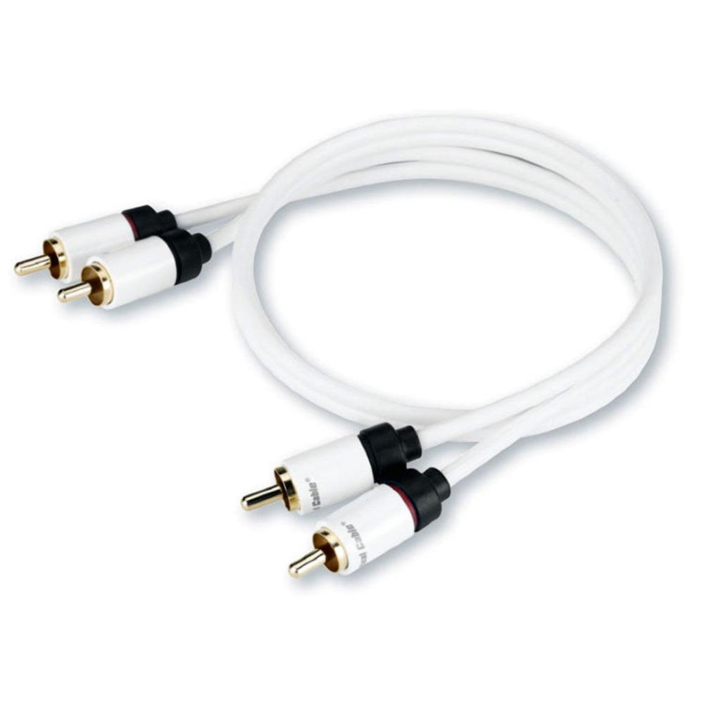Кабель аудио 2xRCA - 2xRCA Real Cable 2RCA-1 2.0m