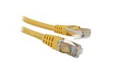Кабель витая пара патч-корд Hyperline PC-LPM-STP-RJ45-RJ45-C5e-3M-YL 3.0m