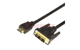 Кабель HDMI-DVI Rexant 17-6307 Gold (1 штука) 7.0m