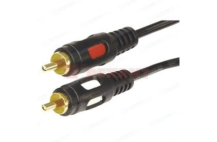 Кабель аудио 2xRCA - 2xRCA Rexant 17-0148 Gold (1 штука) 10.0m