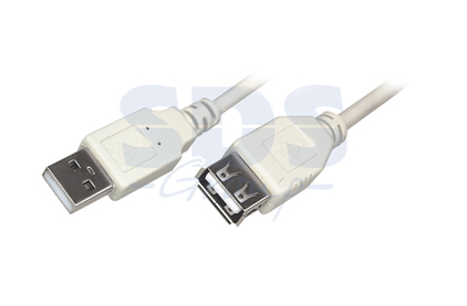 Удлинитель USB 2.0 Тип A - A Rexant 18-1117 USB (1 штука) 5.0m