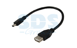 Кабель USB 2.0 Тип A - B 5pin mini Rexant 18-1132-2 USB (1 штука) 0.2m
