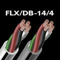 Отрезок акустического кабеля Audioquest (Арт.761) FLX/DB-14/4 White 0.75m