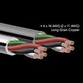 Отрезок акустического кабеля Audioquest (Арт.766) FLX/DB-14/2 Grey 2.0m