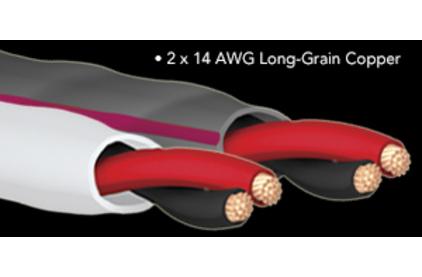 Отрезок акустического кабеля Audioquest (Арт.772) SLiP-14/2 Grey 2.0m