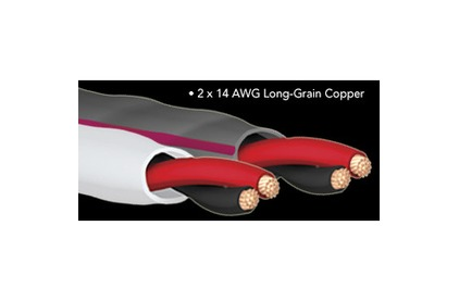 Отрезок акустического кабеля Audioquest (Арт.779) SLiP-14/2 Grey 1.6m