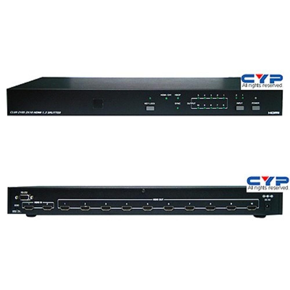Усилитель-распределитель HDMI Cypress CLUX-210S
