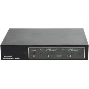 Матричный коммутатор 2х2 для сигналов HDMI 1.3 Cypress CMLUX-22S