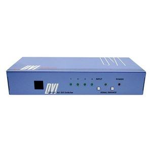Коммутатор 4x1 сигналов интерфейса DVI-D Single Link Cypress CDVI-41