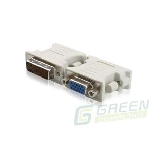 Переходник DVI - VGA Greenconnect GC-CV103