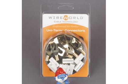 Разъем Лопатка WireWorld SPDGUTM08 Uni-Term Spade Gold (8 штук)